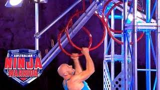 Unseen Ninja Run: Alex Bigg (Grand Final - Stage 1) | Australian Ninja Warrior 2018