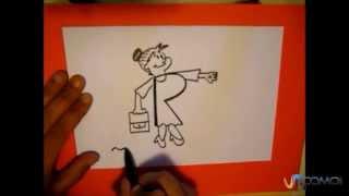 Dibujar con la letra R - Draw with the letter R