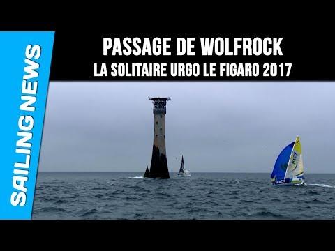 Passage de Wolfrock - La Solitaire Urgo Le Figaro 2017