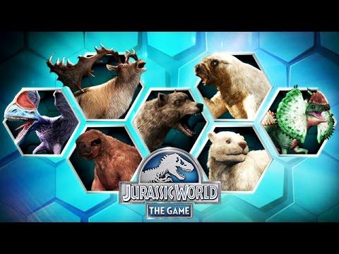 All New Max Level 40 Hybrid Cenozoic Creatures Jurassic World
