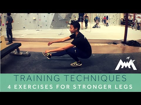 4 Lower Body Exercises for Climbers