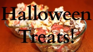 Easy DIY Halloween Party Snacks! Thumbnail