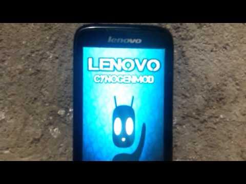 Lenovo A369i install Cynogenmod 4.4.2 kitkat Rom