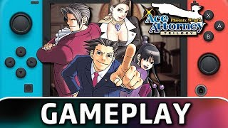 Phoenix Wright: Ace Attorney Trilogy | First 10 Minutes on Switch