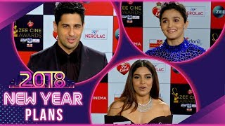 Siddarth, Bhumi Pednekar, Shahid Kapoor, Alia Bhatt Talk About Their New Year Plans