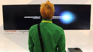 Jins Meme Eye-tracking 6-Axis Gyroscopic Glasses! [CES 2015]