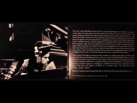 Nick Cave - Secret Life of the Lovesong - Part 7 ( Love Letter )
