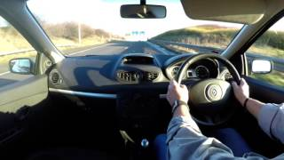 Virtual Video Test Drive in our Renault Clio 2 0 16v Renault Sport 197 cup 3dr 2009
