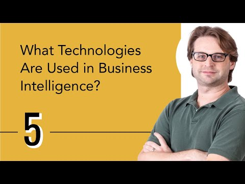What Technologies Are Used In Business Intelligence?