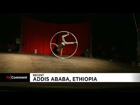 Ethiopia holds circus to promote performance arts and African culture.