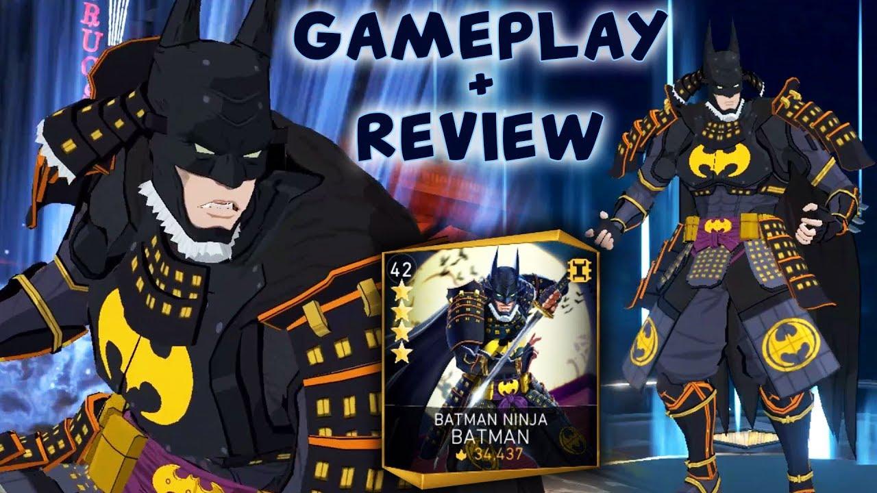 Injustice 2 Mobile Batman Ninja Batman Gameplay Review Full Batman Ninja Team Is Awesome Youtube