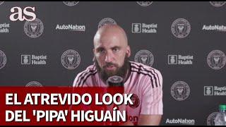 En rueda de prensa sigue impactando aún más: el look de Higuaín... | Diario As