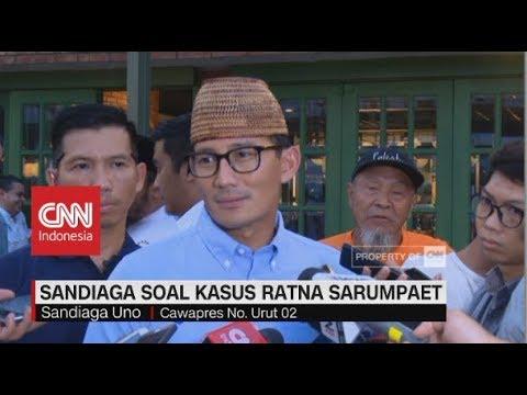 Sandiaga Uno Batal Laporkan Ratna Sarumpaet ke Polisi