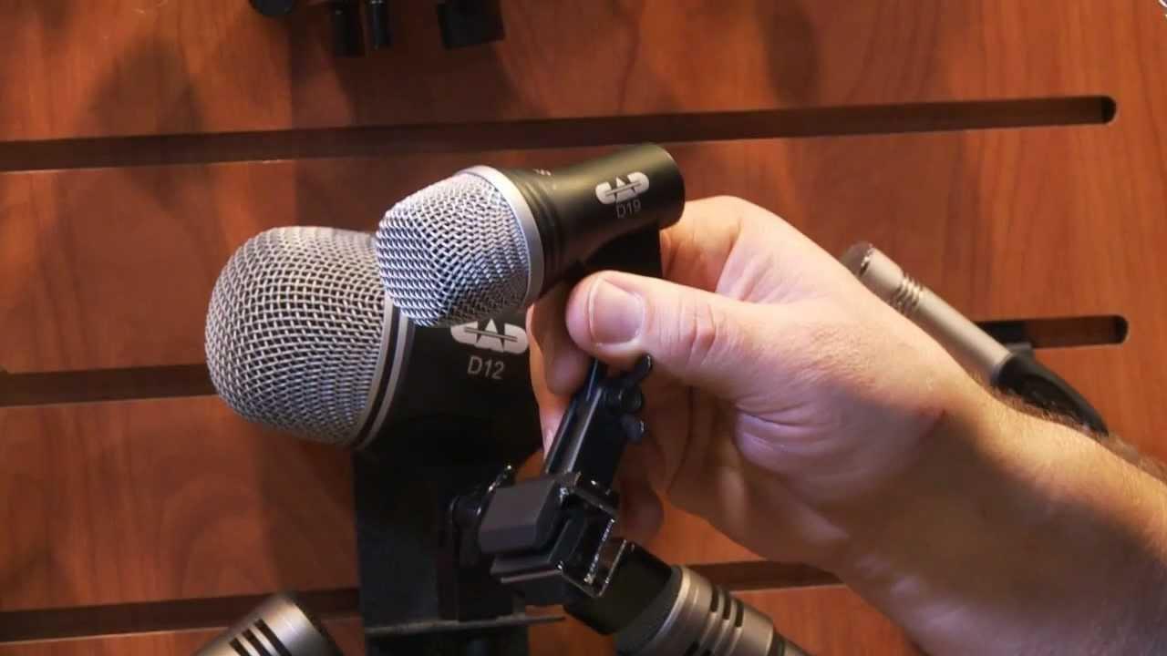 CAD Audio Stage7 Schlagzeug Mikrofon Set Microphone