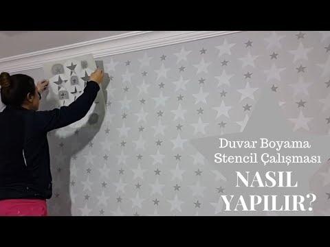 Duvar Boyama - Stencil Çalışması