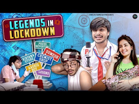 Legends In Lockdown | latest comedy video | This is Sumesh