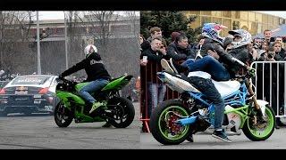 Выставка Мотобайк 2015 Дрифт - Стант Шоу. Drift Stunt Show! #МОТО РЕЙТИНГ