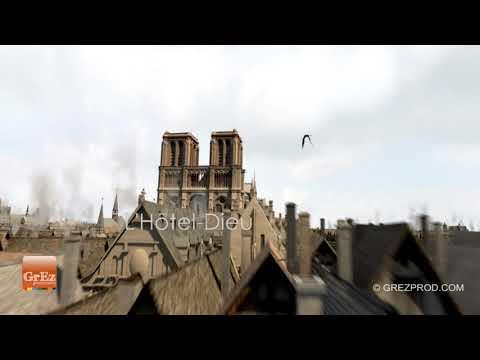 Take an Aerial Tour of Medieval Paris