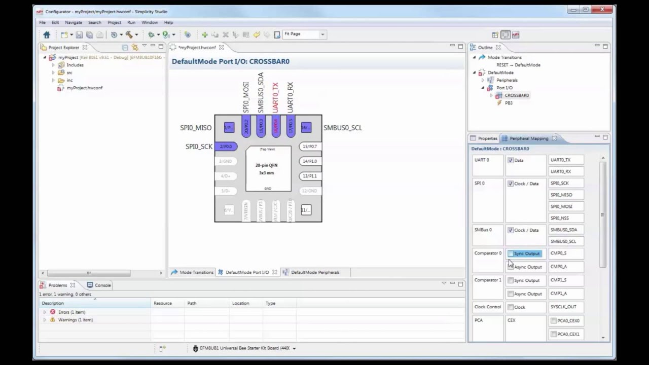 Quickly Manage Pin Assignments with Simplicity Studio™ Configurator