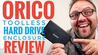 Orico HDD Enclosure Review - External 2.5 Inch USB C & USB 3.0