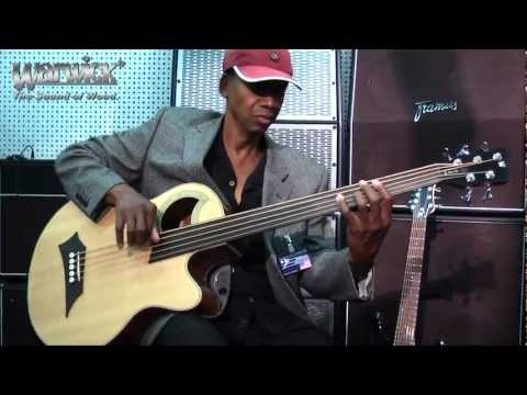 Warwick Bass Camp 2012 - Alphonso Johnson Jamming On A RockBass Alien Deluxe