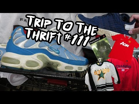 Trip To The Thrift #111 - OG Air Max Plus Found!!!
