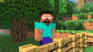 - Minecraft Мультики Школа монстров Стрельба из лука и стрижка овец Майнкрафт анимация