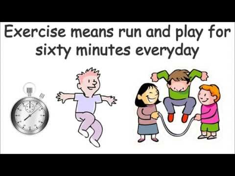Exercise is Cool- Hip Hop song to teach kids the importance of physical activity- by Mark D. Pencil