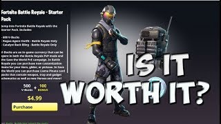 Fortnite starter pack is it worth buying?