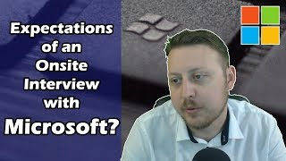 What to Expect from an Onsite Interview with Microsoft | Ask a Dev | Dylan Israel