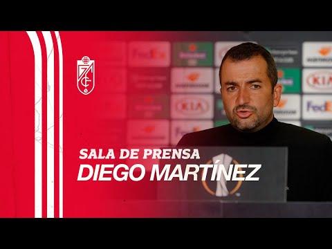 PSV Eindhoven vs Granada CF   Rueda de prensa postpartido de Diego Martínez