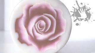 Polymer clay tutorial murrina Rosa tridimensionale / millefiori cane 3D Rose
