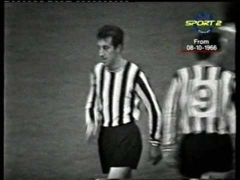 Arsenal 2-0 Newcastle United (Saturday 8th October 1966)