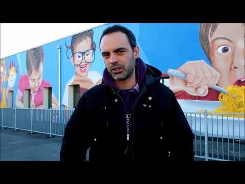 "William Gervasoni, In Arte ""Wiz Art"", Street Artist Bergamasco"