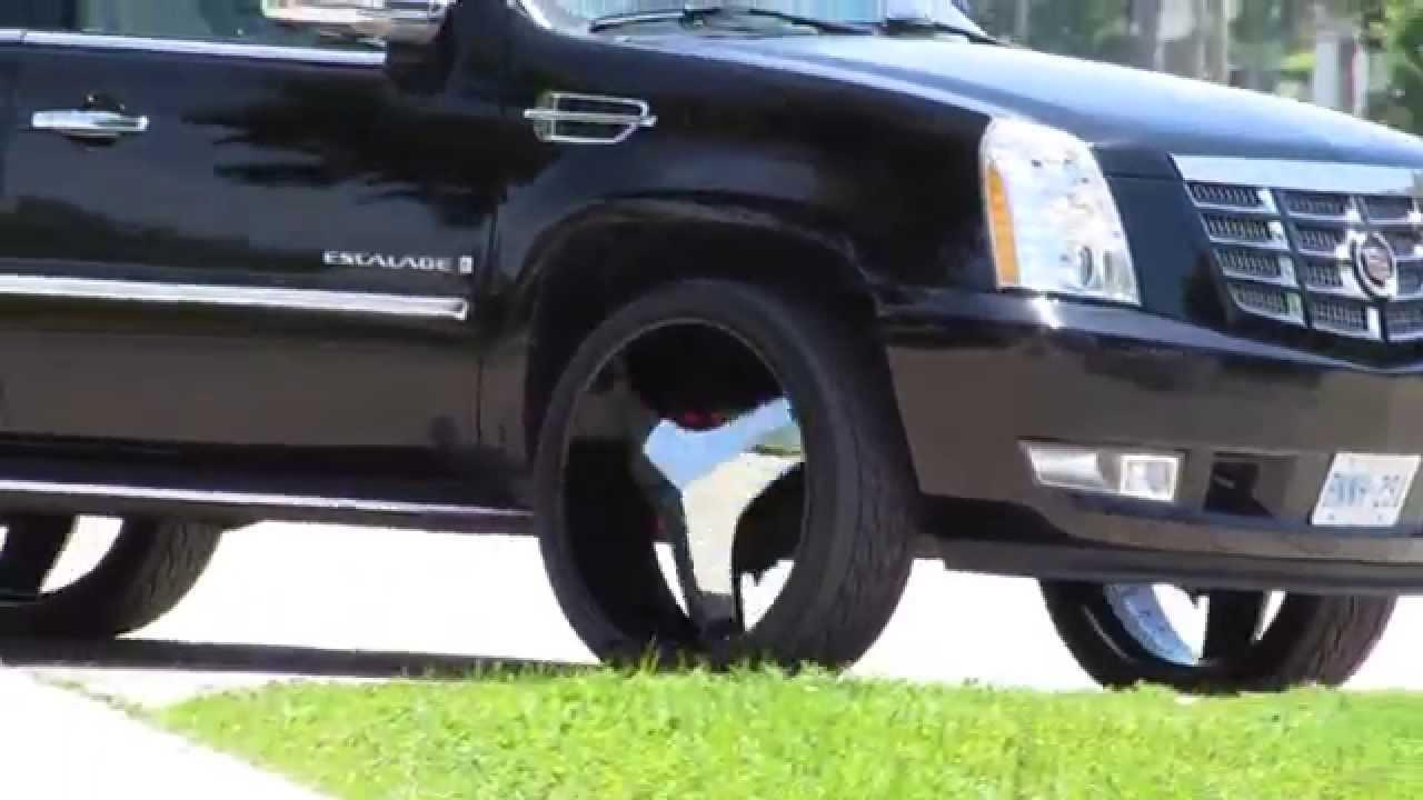 Cadillac On 26 Inch Rims : Cadillac on inch rims youtube videos
