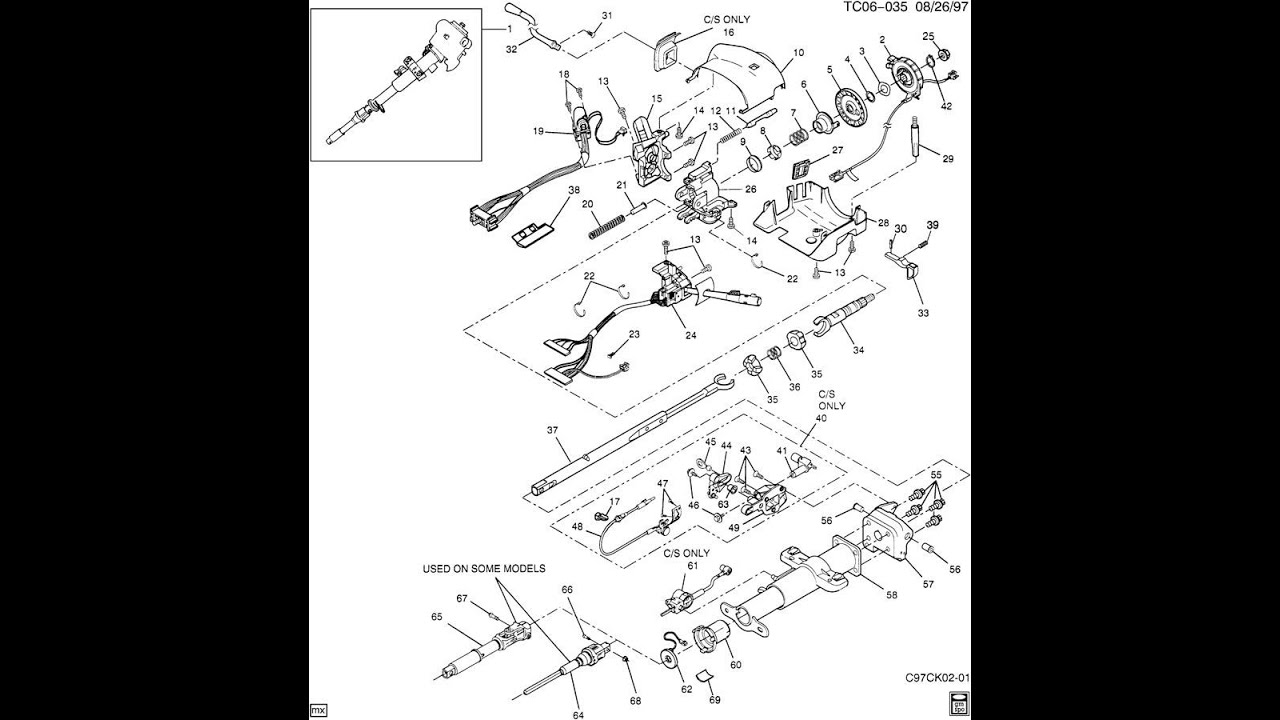 cadillac escalade starting diagram 2005 cadillac escalade wiring diagram adventures with todd fix for 2000 cadillac escalade stuck