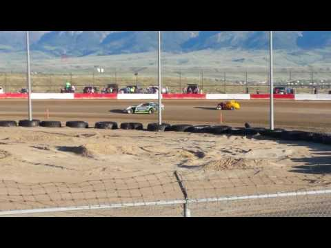 Cars at casper speedway 5-12-17 packing it down