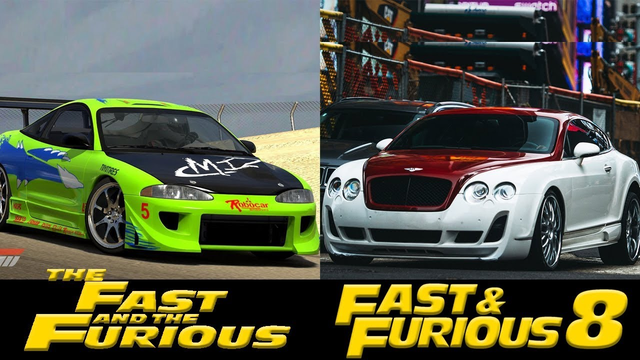 All Fast And Furious Cars >> Fast And Furious All Cars