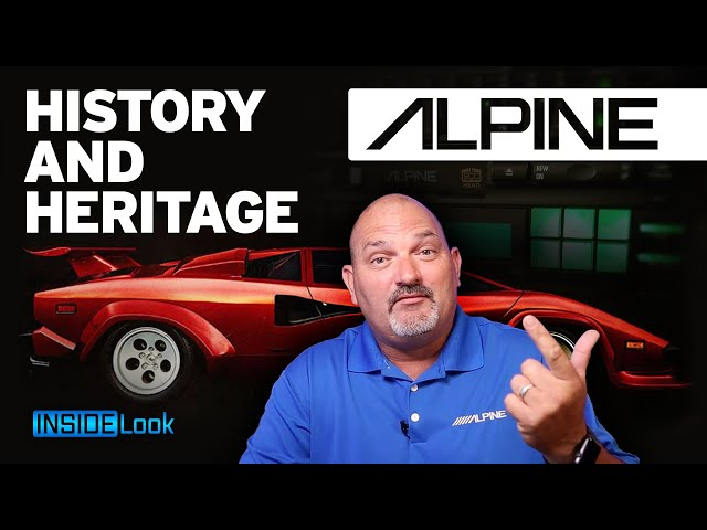 A 5 Minute History and Heritage of Alpine Electronics