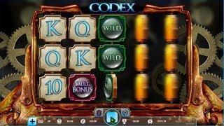 CODEX 🎰 🎰 🎰 Machine à sous en ligne avec un tas de bonus.