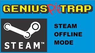 Steam Offline Mode. Running Steam With No Internet