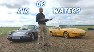 Front Engine water-cooled or rear engine air-cooled? Porsche 964 Vs 968