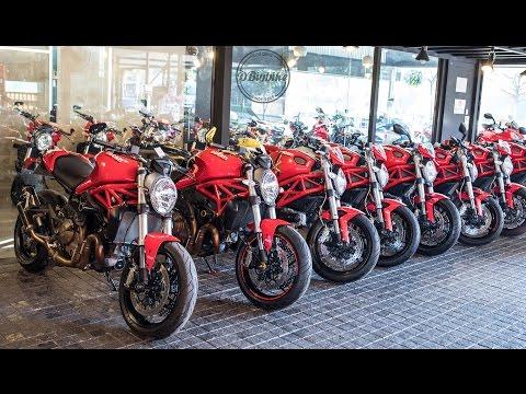 ข้อแตกต่าง Ducati Monster 696, 795, 796, S2R, 821, 797