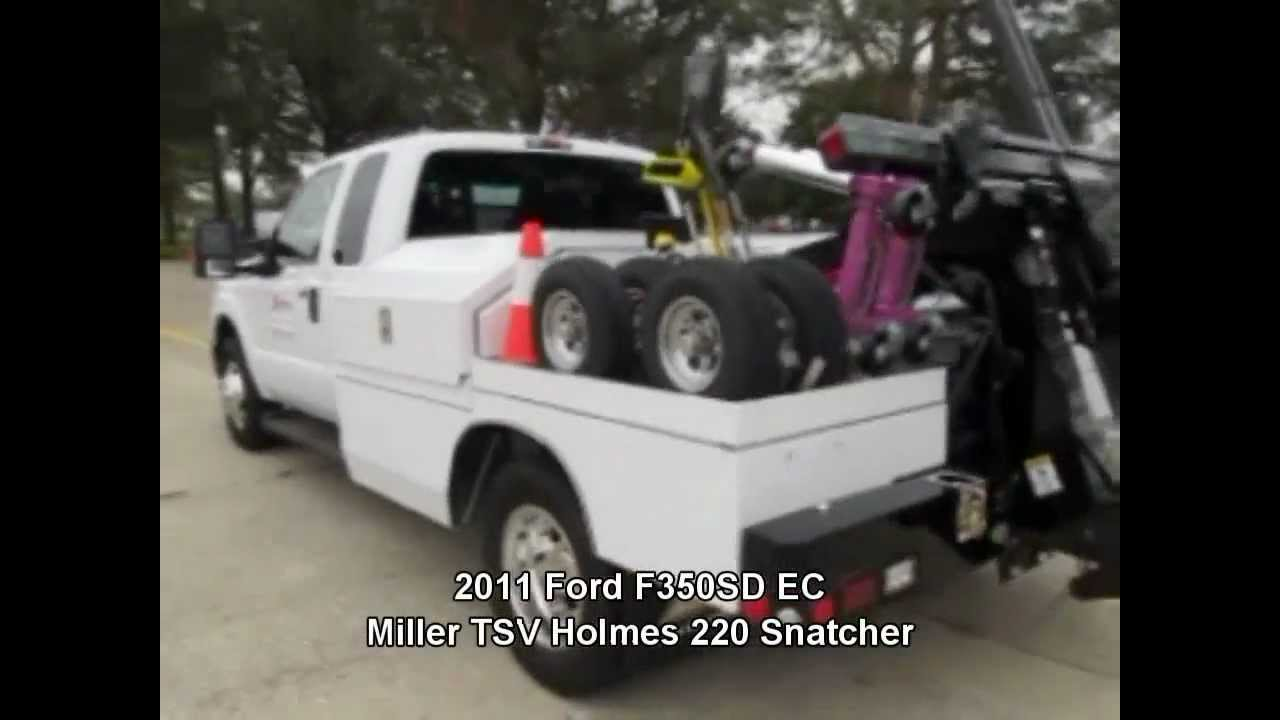 Miller Tsv Holmes 220 Snatcher Towing Service Vehicle