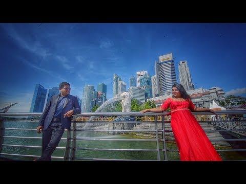 Singapore Diaries | Indian post wedding videography - Bhaskar + Sangeetha
