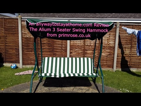 A Review of the Alium 3 Seater Swing Hammock from Primrose