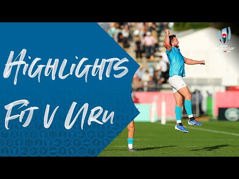 HIGHLIGHTS: Fiji v Uruguay - Rugby World Cup 2019