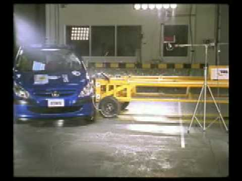 Peugeot 307 Euro NCAP Crash Test