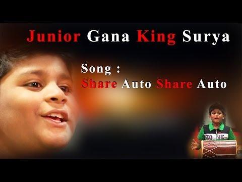 Junior King of  Chennai Gana Surya  - Share Auto Share Auto - Must watch Redpix 24X7