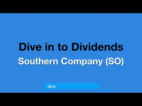 #5 Southern Company (SO) Cash Dividends Paid Last 15 Years
